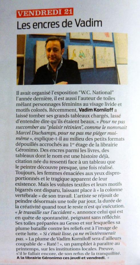 article La Semaine février 2014