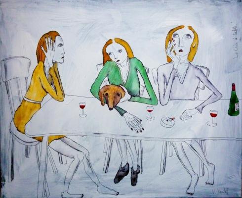 Le Chien À Table