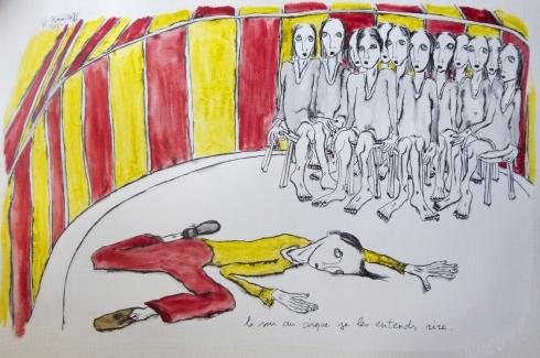Le Soir Au Cirque Je Les Entends Rire