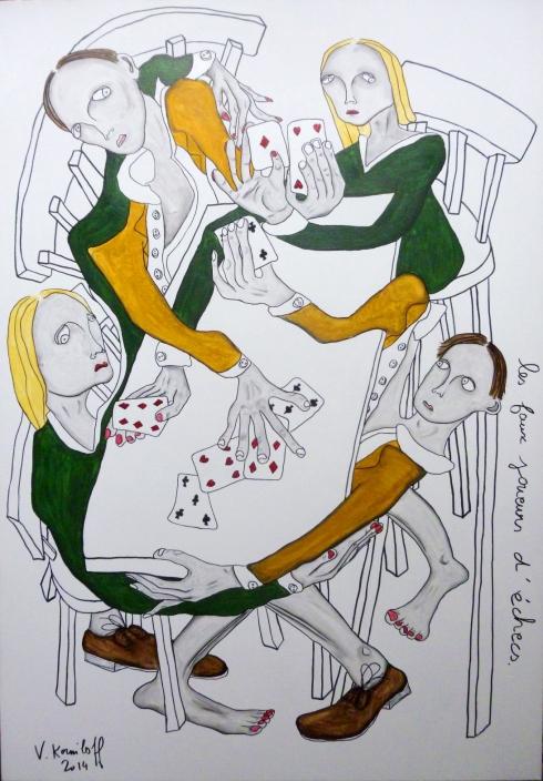 Les Faux Joueurs D'échecs